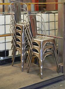 Empilement de chaise Tolix modèle A