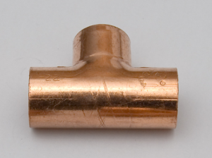 photo d'un tuyaux raccord en T