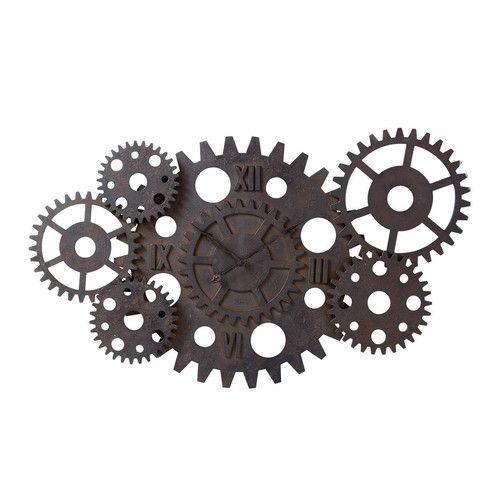 horloge factory à rouages