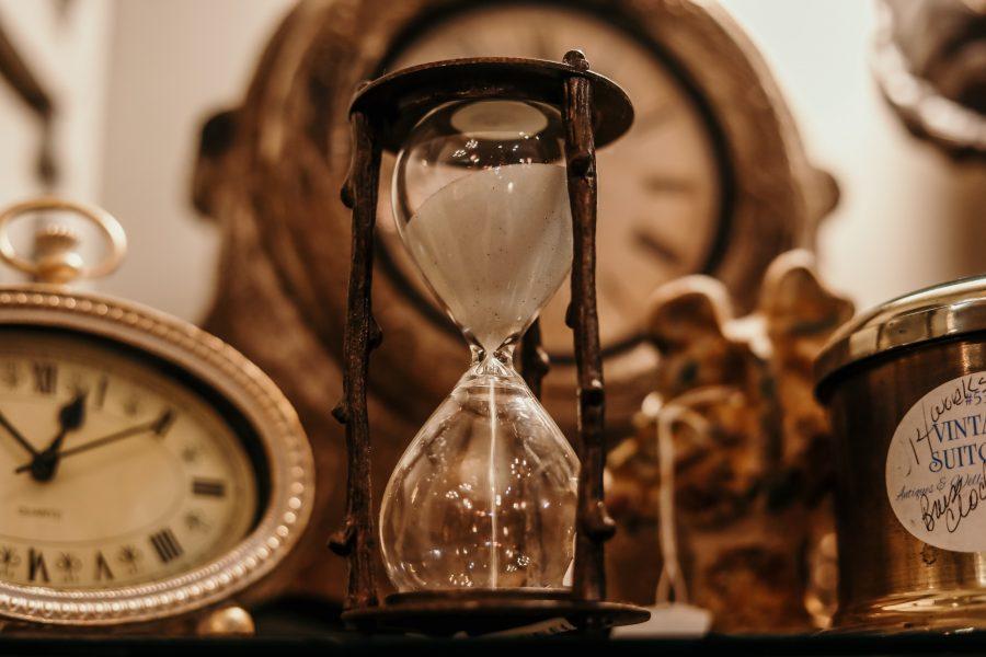 Horloge de style industriel inspiration rétro vintage